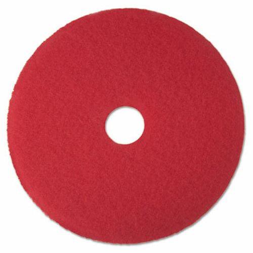 3m red buffer floor pad 5100 17 5 pads mmm08392 for 17 floor buffer pads