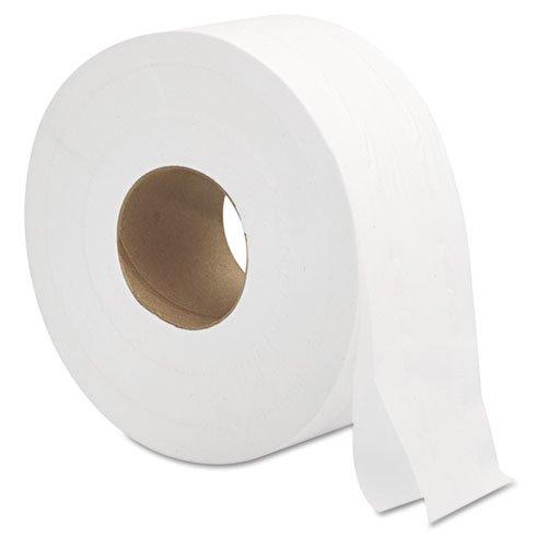 GEN Jumbo Jr 2 Ply Toilet Paper Rolls 12 9JUMBO