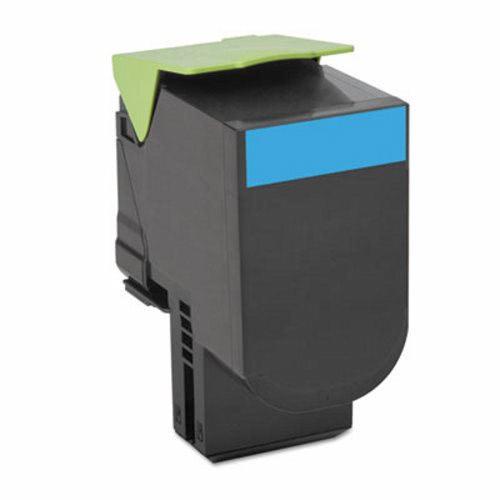 Lexmark C231HC0 Cyan High Yield Return Program Toner Cartridge