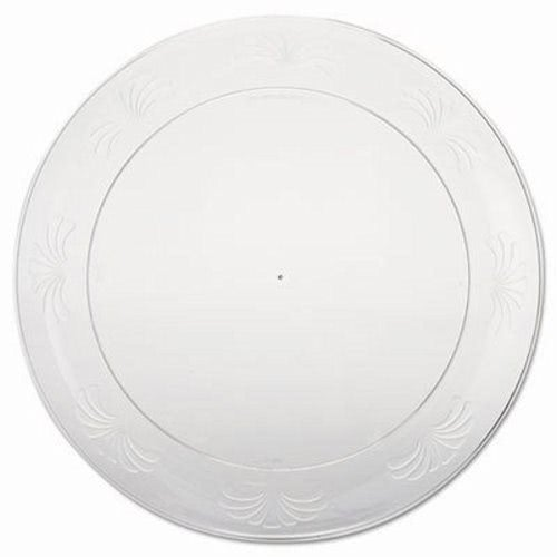 Designerware 9  Plastic Plates Clear 180 Plates (WNA DWP9180)  sc 1 st  CleanItSupply.com : plastic plates clear - pezcame.com