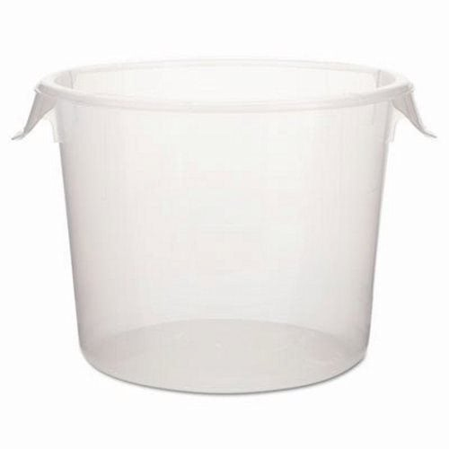 Rubbermaid 5723-24 6 Qt Round Storage Container Clear (RCP 5723-24 CLE)  sc 1 st  CleanItSupply.com & Rubbermaid 5723-24 Round 6 Qt Storage Container Clear RCP 5723-24 CLE