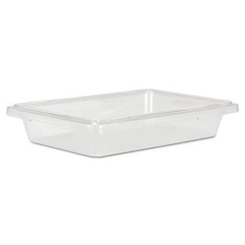 Delightful Rubbermaid 3307 Food/Tote Box, 2 Gallons, Clear (RCP3307CLE)