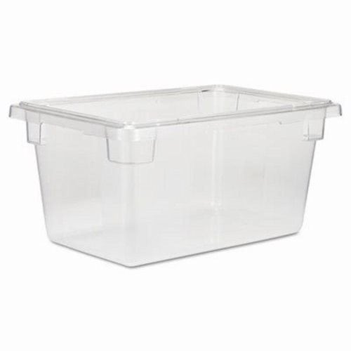 Elegant Rubbermaid 3304 5 Gallon Clear Food Storage Box (RCP 3304 CLE)