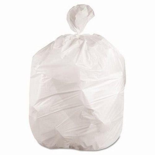 10 Gallon White Garbage Bags 24x23 0 4mil 500 Bwk2423exh