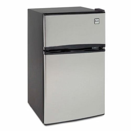 Counter Height Refrigerator And Freezer : Avanti Counter-Height 2-Door Refrigerator/Freezer, Stainless Steel ...