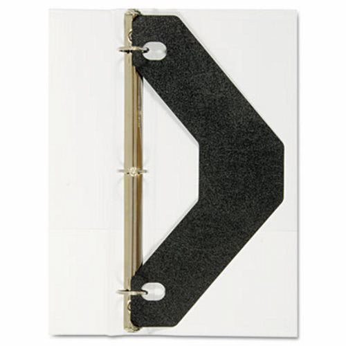 avery triangle shaped sheet lifter for three ring binder black 2