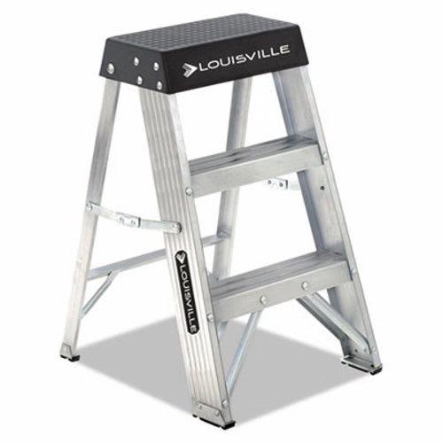 Fabulous Louisville Aluminum Folding Step Stool Aluminum Black Dadas3002 Ibusinesslaw Wood Chair Design Ideas Ibusinesslaworg