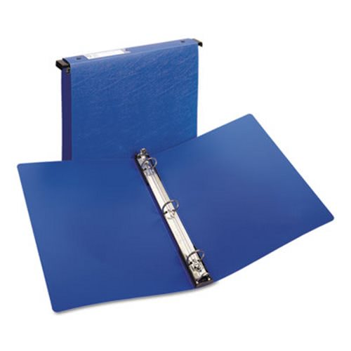 Avery Hanging File Poly Ring Binder 1 Quot Capacity Blue