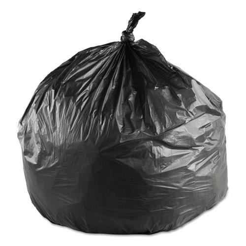 16 Gallon Black Trash Bags 24x33 6mic 1000 Ibsec243306k
