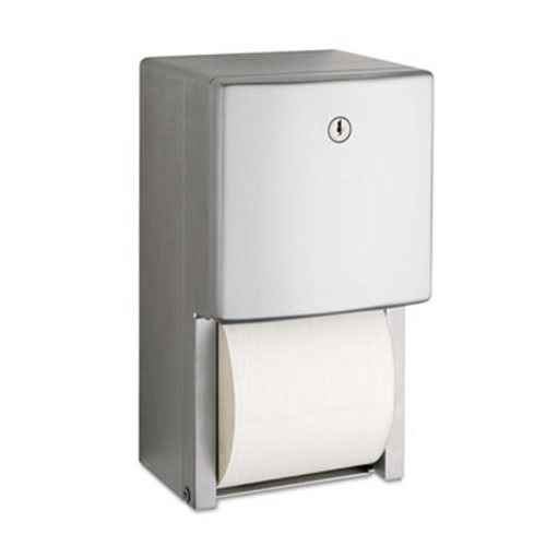 Bobrick Conturaseries Stainless Steel Dual Roll Toilet Paper Dispenser Bob4288