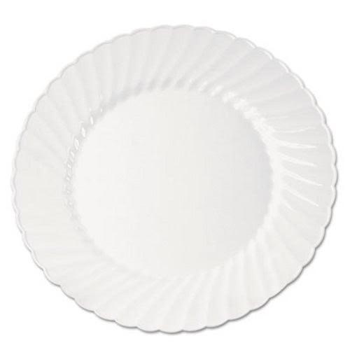 Classicware 9  White Plastic Plate 180 Plates (WNACW9180W)  sc 1 st  CleanItSupply.com & Classicware 9
