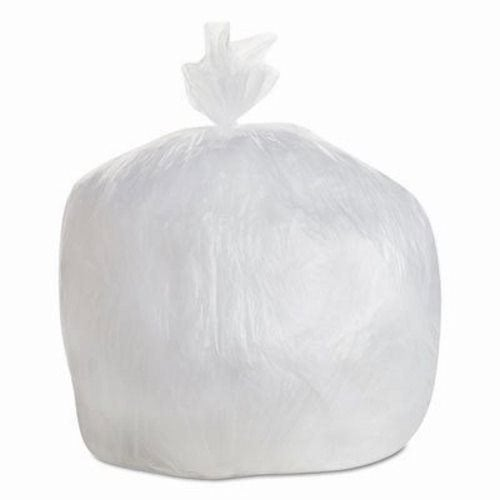 30 Gallon Clear Trash Bags 30x36 10mic 500 Gen 303610
