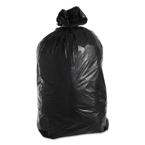 60 Gallon Black Garbage Bags 36x58 1 7mil 100 Trnml3658x