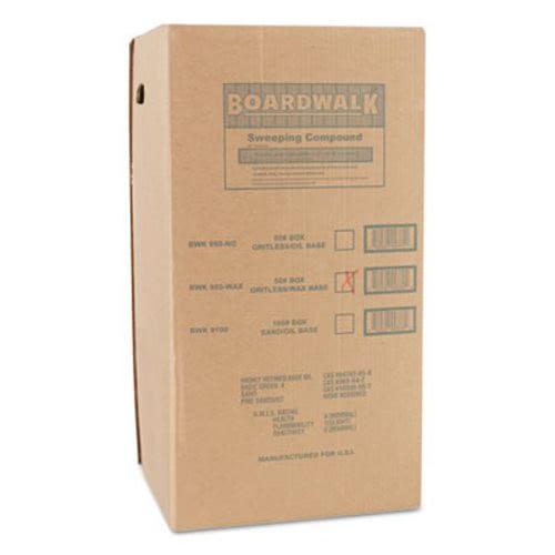 Boardwalk Wax-Base Sweeping Compound, Granular, 50 Lbs