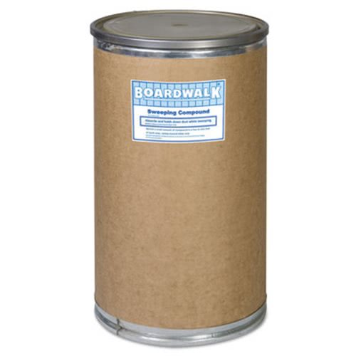 Boardwalk Oil-Based Sweeping Compound, Grit, Red, 300lbs