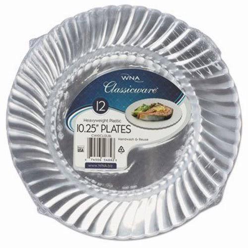 WNA Classicware Clear Plastic Plates 10.25\  12 Plates (WNARSCW101212PK)  sc 1 st  Clean It Supply & Wna Classicware Plastic Plates 12 Plates WNARSCW101212PK