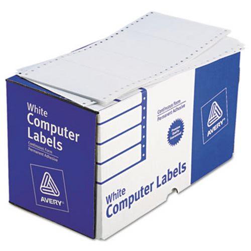 avery dot matrix printer shipping labels 1 across 2 15 16 x 5