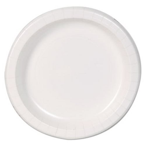 Dixie Basic 8-1/2  Paper Plates White Lightweight 125 Plates (DXEDBP09W)  sc 1 st  CleanItSupply.com & Dixie Basic 8-1/2