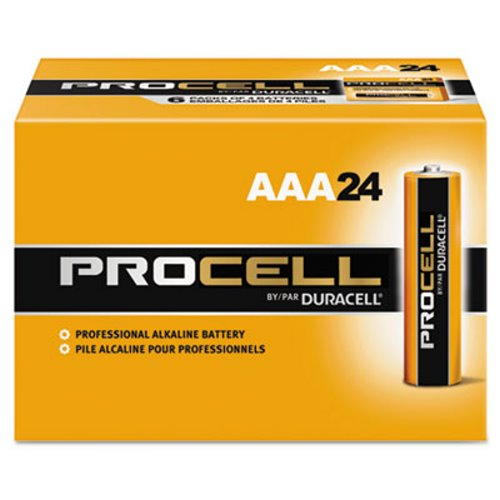 Duracell Procell Batteries Aaa 24 Batteries Durpc2400bkd