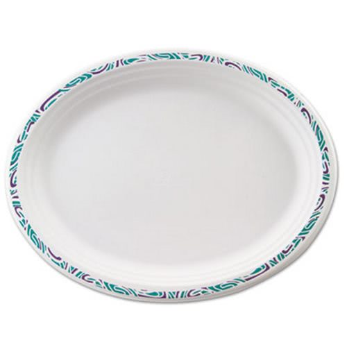 Chinet Paper Plates Oval White Festival Rim 500 Platters (HUH22525)  sc 1 st  CleanItSupply.com & Chinet Classic Paper Platter HUH22525