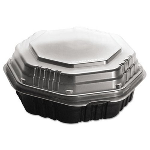 OctaView Hot Food Containers 9 In Deep 100 Containers SCC809011PP94