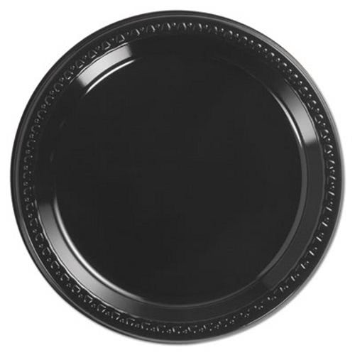 Chinet Heavyweight Plastic Plates 9  Black 500 Plates (HUH81409)  sc 1 st  CleanItSupply.com & Chinet Heavyweight 9