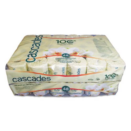 Cascades 4065 Standard 2 Ply Toilet Paper 48 Rolls Csd4065