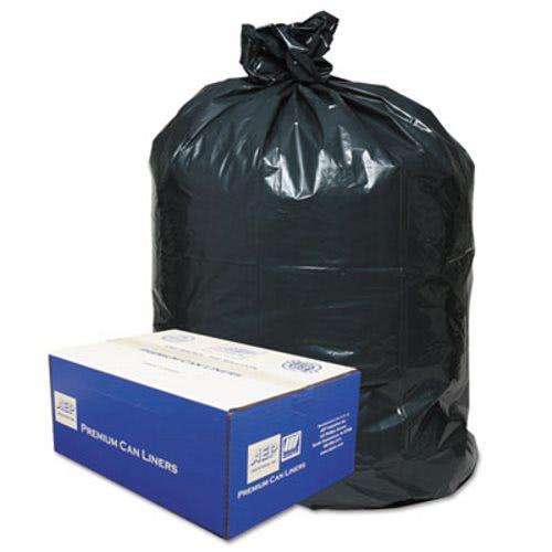 30 Gallon Black Garbage Bags 30x36 0 71mil 250 Wbi303618b