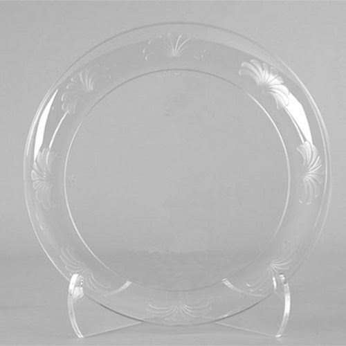 6\  Plate Clear Plastic Plates 180 Plates (WNA DWP6180)  sc 1 st  CleanItSupply.com & 6\