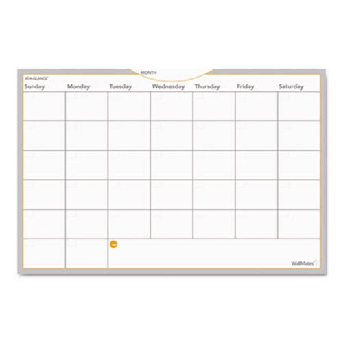 Wallmates Self Adhesive Whiteboard Monthly Planner Aagaw602028