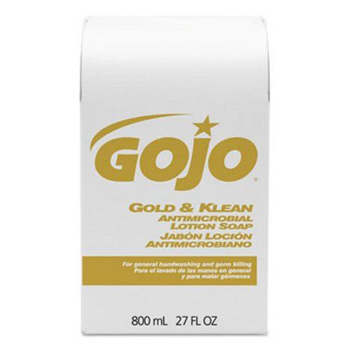Gojo Gold Amp Klean Lotion Soap Bag In Box Dispenser Refill