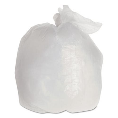 Rubbermaid 6 Gallon Clear Garbage Bags 21 X 24 2 Mil 1000 Rcp500288cle