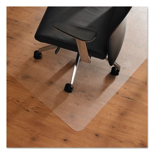 Cleartex Ultimat Anti Slip Hard Floor Chair Mat 48x53 Clear Flr1213420era