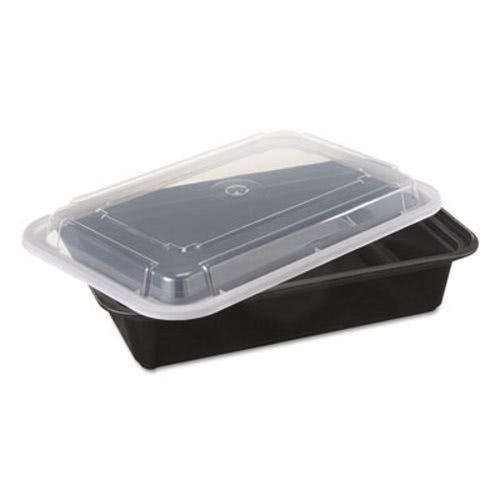 38 oz Versatainer Rectangular Food Containers 150 Containers PAC