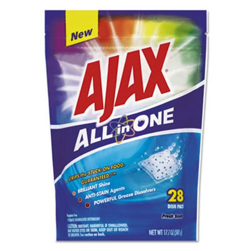 foto de Ajax All in One Automatic Dish Detergent Pacs CPC44427PK