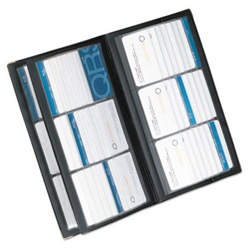 Rolodex Vinyl Business Card Book 6 2 14 X 4 Cardspage 32 Pages