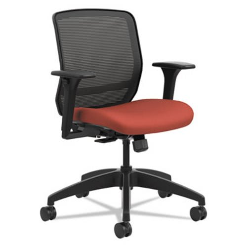 Hon Quotient Series Mesh Mid Back Task Chair, Poppy (HONQTMMY1ACU42)
