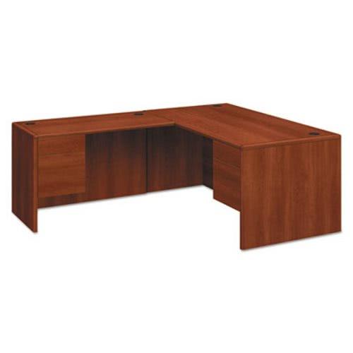 Hon 10700 Series L Desk 3 4 Right Pedestal 66w X 30d X 29 1 2h Cognac Hon10783rco