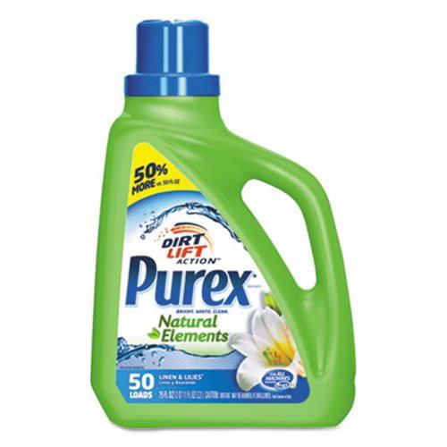 purex natural elements he liquid detergent 6 bottles dia01120ct