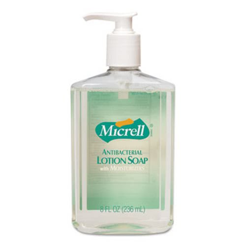 Gojo Micrell Antibacterial Lotion Soap Unscented Liquid