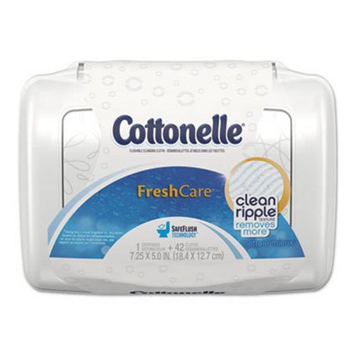 Kleenex 36734 Cottonelle Fresh Care Flushable Wipes Kcc36734