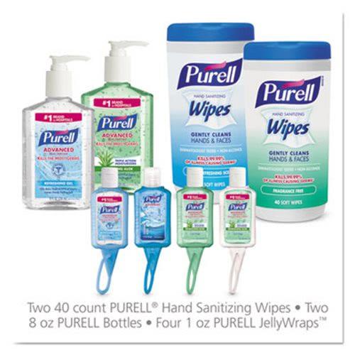 Purell On the Go Hand Sanitizer Kit, Assorted, 8 Pieces, 6 Kits  (GOJ9120K1EC)