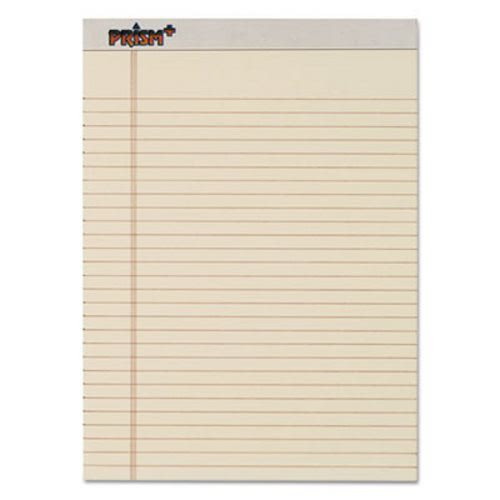 tops prism plus colored writing pads lgl rule ltr ivory 50 sheet