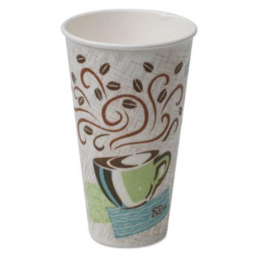 Dixie Hot Cups Paper 20 Oz Coffee Dreams Design 25