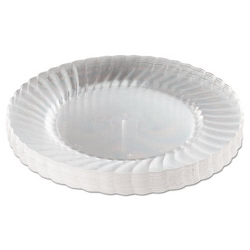 Wna Plastic Plates 9  Diameter Clear 12 Plates (WNARSCW91512PK)  sc 1 st  CleanItSupply.com & Wna Classicware 9