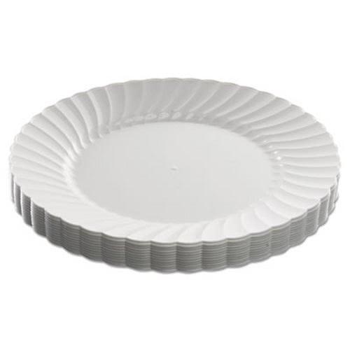 WNA Classicware Plastic Plates White 9  180 Plates (WNARSCW91512W)  sc 1 st  CleanItSupply.com & Wna Classicware Plastic Dinnerware WNARSCW91512W