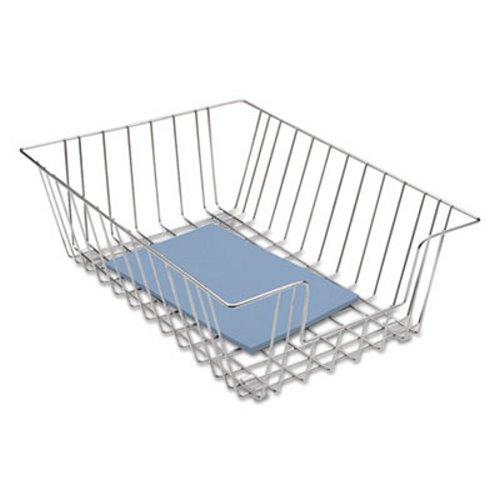 Fellowes Workstation Legal Size Desk Tray Organizer, Silver (FEL65012)