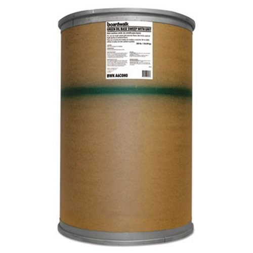 Boardwalk Oil-Based Sweeping Compound, Grit, 300 Lbs