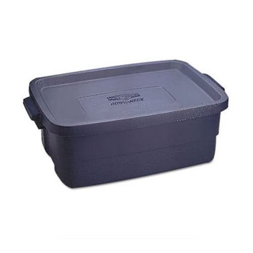 Rubbermaid Roughneck 10 Gallon Storage Box Indigo 8 Boxes (UNXRMRT100004)  sc 1 st  Clean It Supply : rubbermaid rugged storage  - Aquiesqueretaro.Com