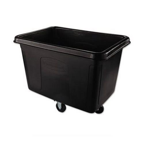 Rubbermaid 4614 Black Cube Truck 14 Cubic Feet Black